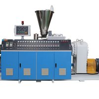 Twin Screw Extruder Machine for PVC